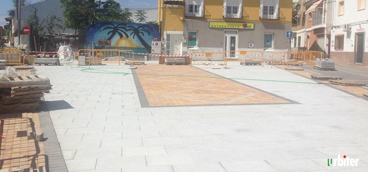 Rehabilitación Plaza de las Verduras Yuncler -Urbiter