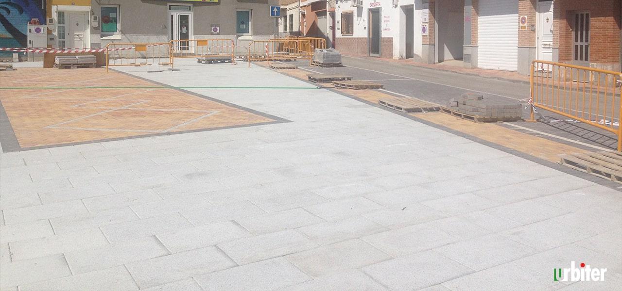 Rehabilitación Plaza de las Verduras Yuncler Urbiter