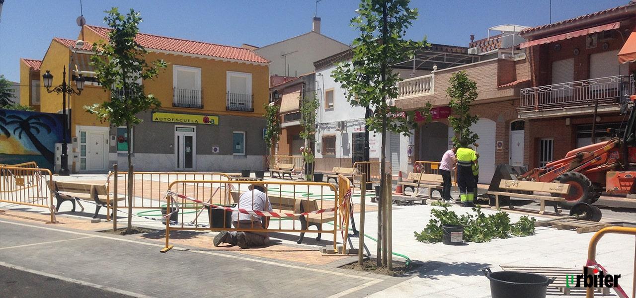 Rehabilitación Plaza de las Verduras- Yuncler - Urbiter