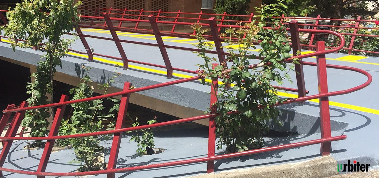 Renovación Accesos a bloque de viviendas,Toledo - Urbiter