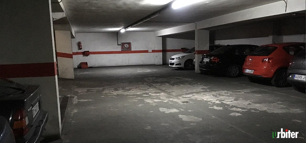 Renovación de pavimento en Parking, Toledo-Urbiter