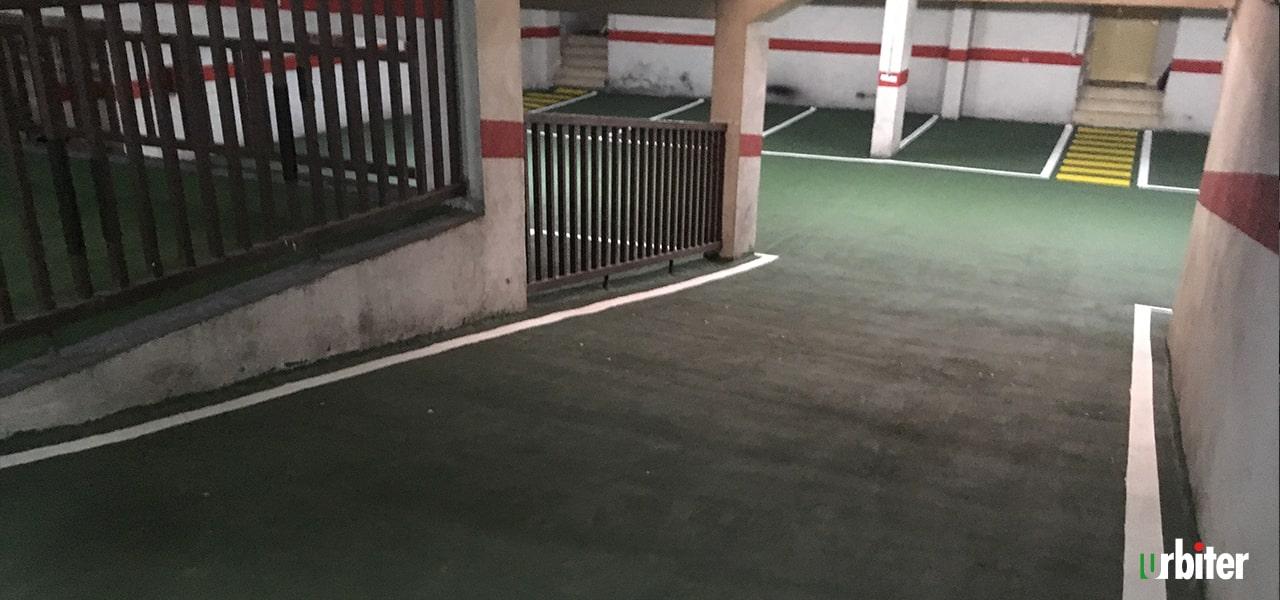 Renovación de pavimento en Parking, Toledo Urbiter
