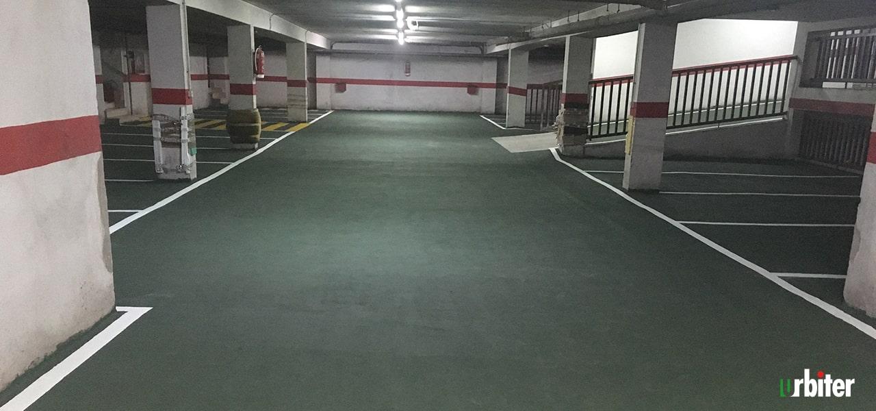 Renovación de pavimento en Parking,Toledo -Urbiter