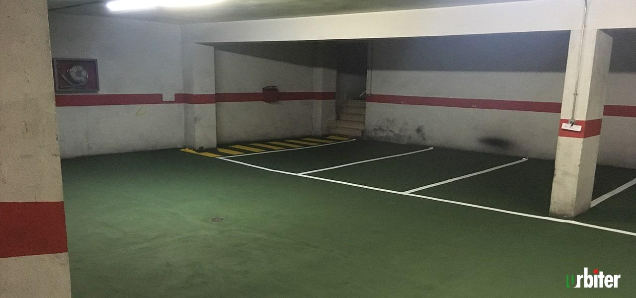 Renovación de pavimento en Parking,Toledo - Urbiter