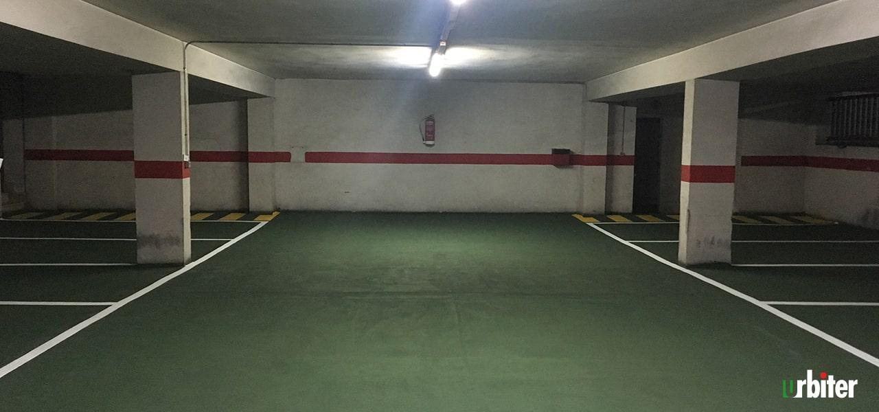 Renovación de pavimento en Parking,Toledo Urbiter